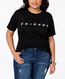 Hybrid Plus Size Cotton Friends T-Shirt