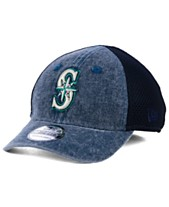 newest cf0a2 57bc0 New Era Boys  Seattle Mariners Jr Hooge Neo 39THIRTY Cap