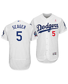 Majestic Men's Corey Seager Los Angeles Dodgers Mother's Day Flexbase Jersey
