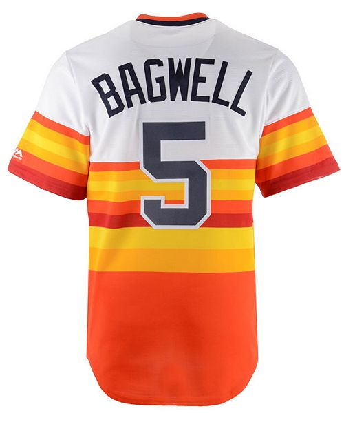 ... Majestic Men s Jeff Bagwell Houston Astros Cooperstown Player Replica  Cool Base Jersey ... a84d6fc94