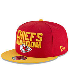 New Era Kansas City Chiefs Draft Spotlight 9FIFTY Snapback Cap