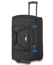 "22"" Wheeled Drop-Bottom Duffel Bag"