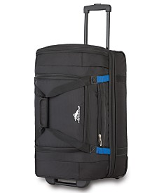 "High Sierra 22"" Wheeled Drop-Bottom Duffel Bag"