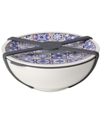 Modern Dining  Indigo Medium Dish with Lid