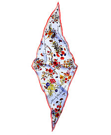 Vince Camuto You're The Bees Knees Silk Bandana Scarf