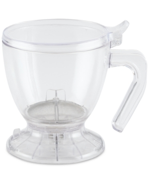 Perfect for for two, this BonJour smart brewer makes it simple to enjoy your favorite loose-leaf tea or pour-over coffee. The clear plastic lets you easily monitor strength.