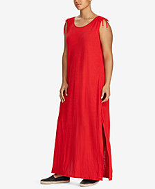 Lauren Ralph Lauren Plus Size Maxidress