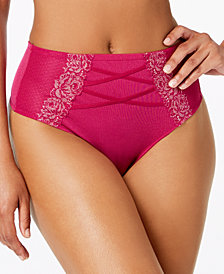 I.N.C. High-Waist Lace Corset Thong, Created for Macy's