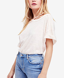 Free People Alex Cold-Shoulder T-Shirt