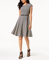 f774ed34e Black And White Dresses: Shop Black And White Dresses - Macy's