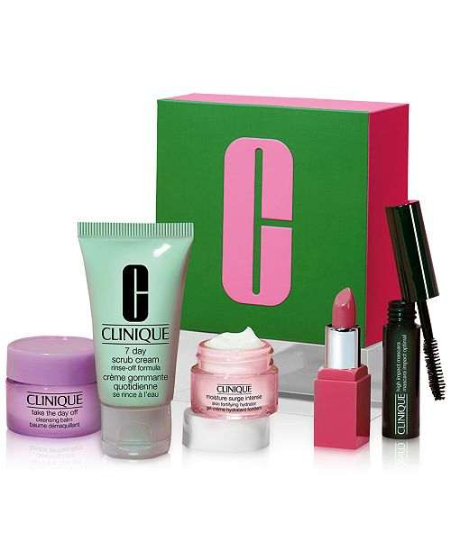 Clinique Receive a FREE 5 pc. Gift with your $25 Clinique purchase! ($36