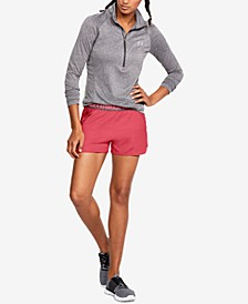 UA Tech™ Half-Zip Top & Play Up Shorts