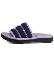 Isotoner Signature Women's Sport Mesh Selena Slides with Memory Foam