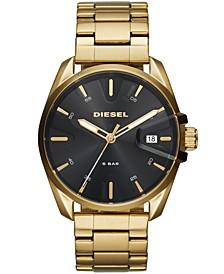 Men's MS9 Gold-Tone Stainless Steel Bracelet Watch 44mm