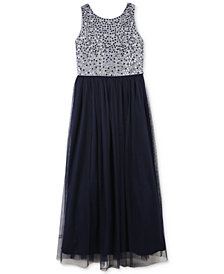 Speechless Toddler Girls Jeweled Maxi Dress