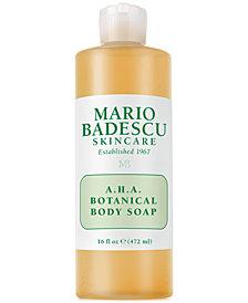 Mario Badescu A.H.A. Botanical Body Soap, 16-oz.