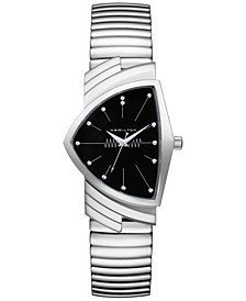 Unisex Swiss Ventura Stainless Steel Bracelet Watch 32mm