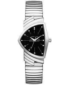 Hamilton Unisex Swiss Ventura Stainless Steel Bracelet Watch 32mm