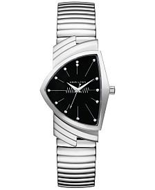 Hamilton Unisex Swiss Ventura Stainless Steel Bracelet Watch 32mm