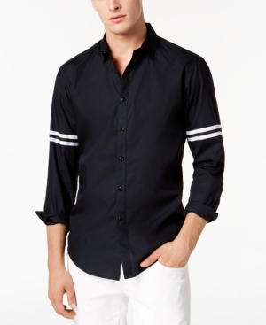 I.n.c. Men's Striped-Sleeve...