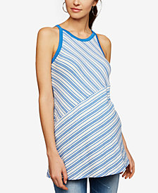 A Pea In The Pod Maternity Striped Tank Top