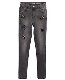 GUESS Big Girls Super Skinny Beaded Appliqué Jeans