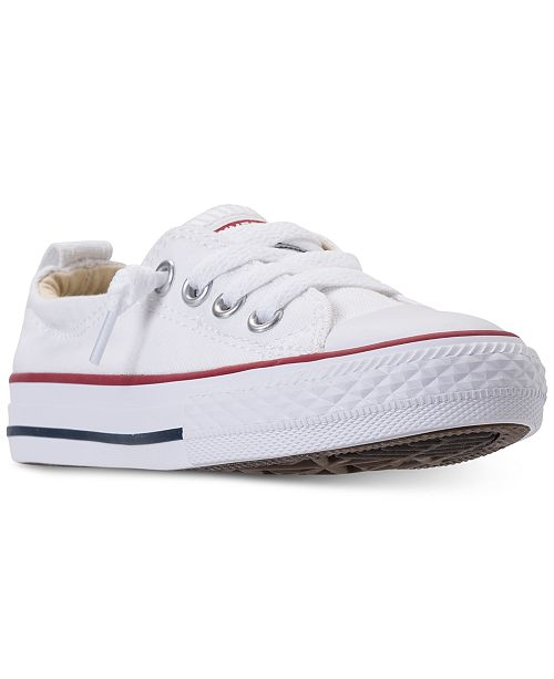 ... Converse Little Girls  Chuck Taylor Shoreline Casual Sneakers from  Finish ... 77a54ab14