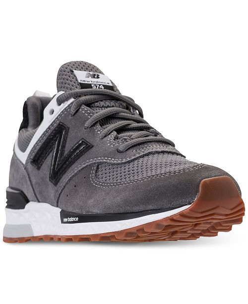 huge selection of 286ec d7dda ... New Balance Boys  574 Sport Casual Sneakers from Finish ...