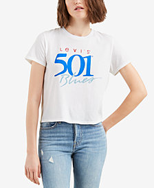 Levi's® Cotton Retro Logo T-Shirt
