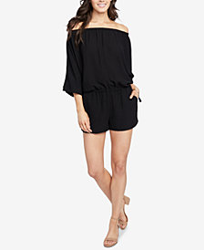 RACHEL Rachel Roy Lia Off-The-Shoulder Romper, Created for Macy's