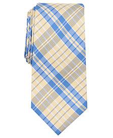 Nautica Men's Giles Plaid Slim Silk Tie