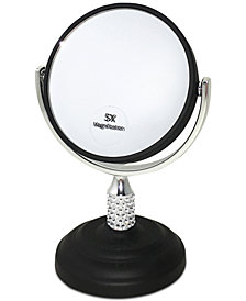 "Popular Bath Galvin 6"" x 3"" Table Mirror"