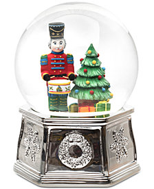 Spode Christmas Tree Nutcracker Snow Globe