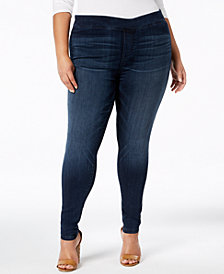 Celebrity Pink Trendy Plus Size Jeggings