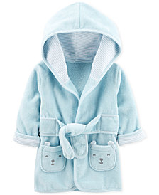 Carter's Baby Boys Hooded Cotton Robe 0-9M