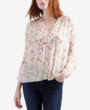 Lucky Brand Floral-Print...