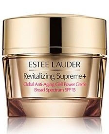 Revitalizing Supreme+ Global Anti-Aging Cell Power Creme SPF 15, 1.7-oz.