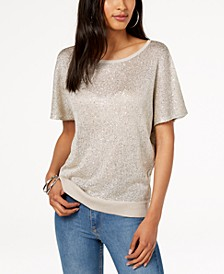 INC Sequined Sweater, Created for Macy's