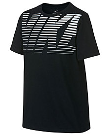 Nike Logo-Print T-Shirt, Big Boys
