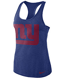 Nike Women's New York Giants Dri-Fit Touch Tank