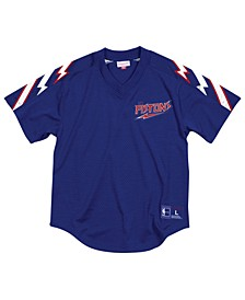 Men's Detroit Pistons Winning Team Mesh V-Neck Jersey