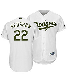 Majestic Men's Clayton Kershaw Los Angeles Dodgers USMC Cool Base Jersey