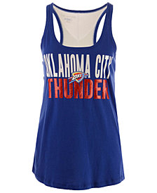 5th & Ocean Women's Oklahoma City Thunder Glitter Tank