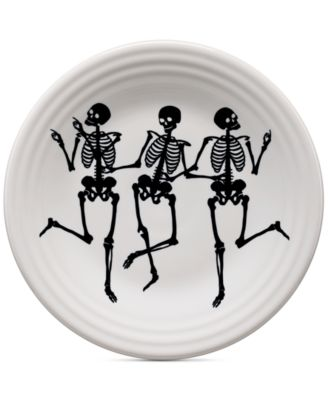 Skeleton Lunch Plate