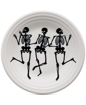 Fiesta Skeleton Lunch Plate
