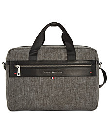 Tommy Hilfiger Men's Leo Backpack Briefcase
