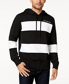 Calvin Klein Jeans Men's Striped-Front Hoodie