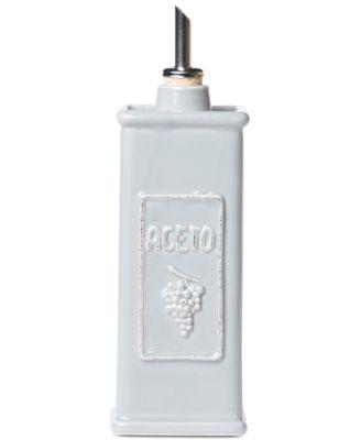 Lastra Collection Gray Vinegar Can
