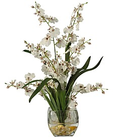 Dancing Lady Orchid Liquid Illusion Artificial Flower Arrangement