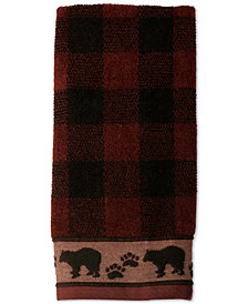 Saturday Knight Sundance Cotton Plaid Jacquard Hand Towel